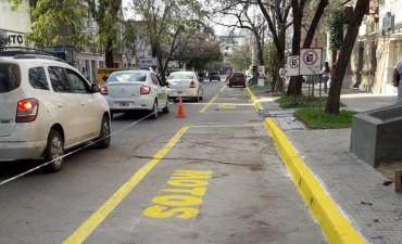 El municipio demarcó nueva zona para el estacionamientos de motos