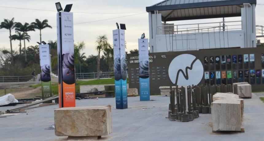 Bienal: el Municipio inaugurará este jueves obras de remodelación integral del Parque 2 de Febrero