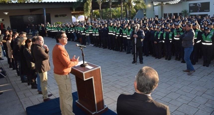 Capitanich presentó la Policía Municipal que  integra diversas áreas con 700 miembros