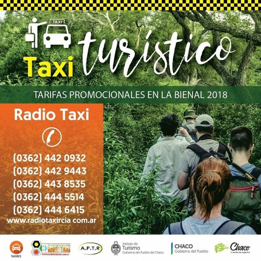BIENAL 2018 CON TAXIS Y PASEOS A PRECIOS PROMOCIONALES