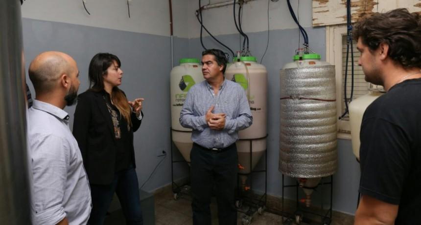 El intendente recorrió emprendimiento de cervecería artesanal
