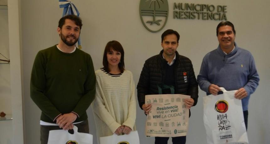 Capitanich recibió a autoridades turísticas de Villa Carlos Paz
