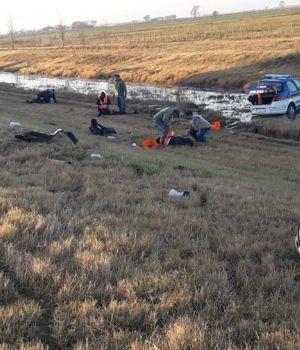 Atropello masivo de policías en control vehicular: un muerto y cuatro heridos