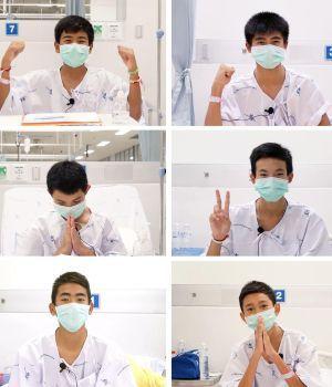 Nenes rescatados en Tailandia grabaron emotivo video desde el hospital