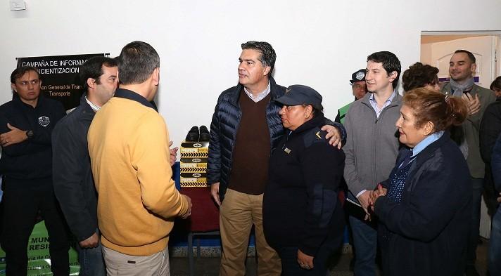 Capitanich habilitó la reforma integral de la Dirección General de Tránsito