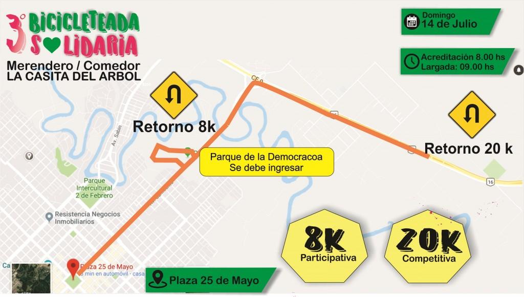 Bicicleteada Solidaria