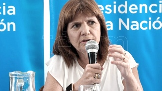 Bullrich dice que el video adulterado provino de