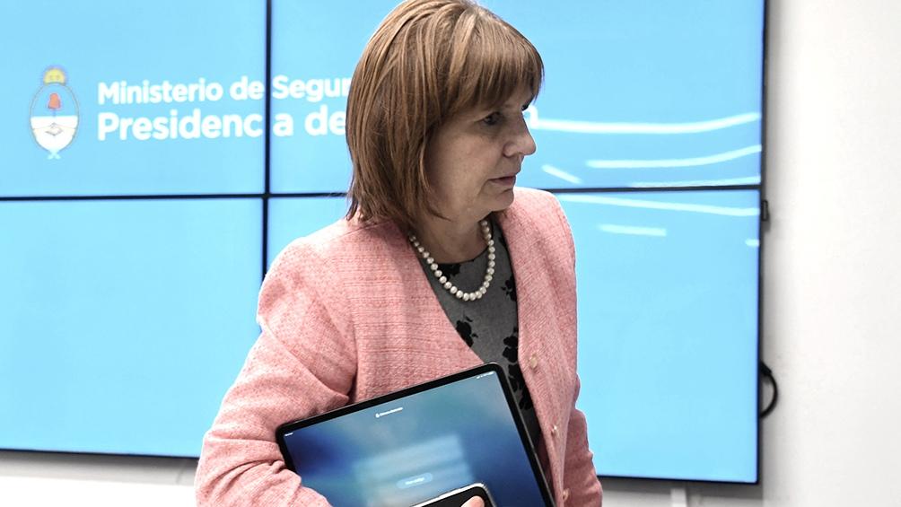 Patricia Bullrich, criticó duramente a gremios aliados al kirchnerismo