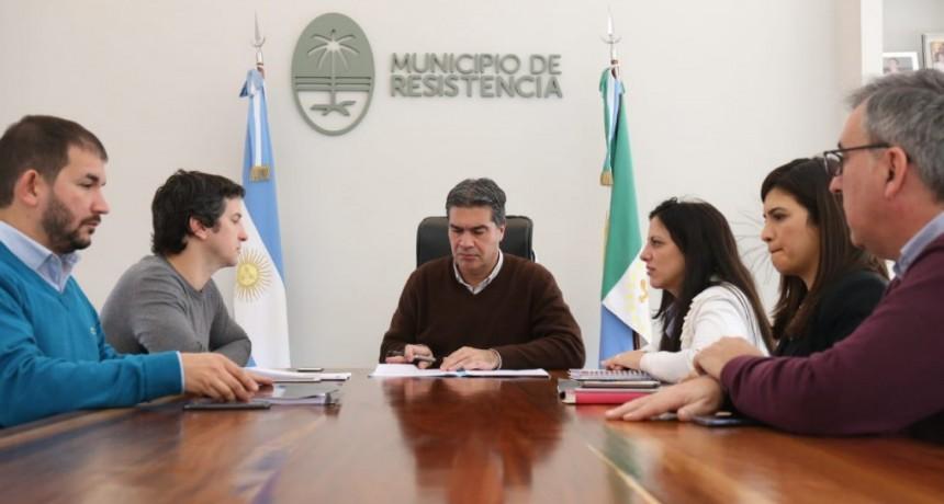 Millonaria inversión de Claro en Resistencia: Capitanich suscribió convenio para la ejecución de obras