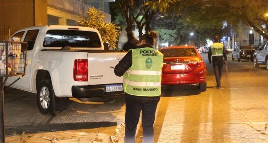 El Municipio realizó controles de tránsito a la salida de boliches