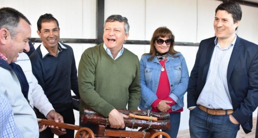PEPPO RECORRIÓ LA MEGAOBRA DEL CENTRO DE LA MADERA: