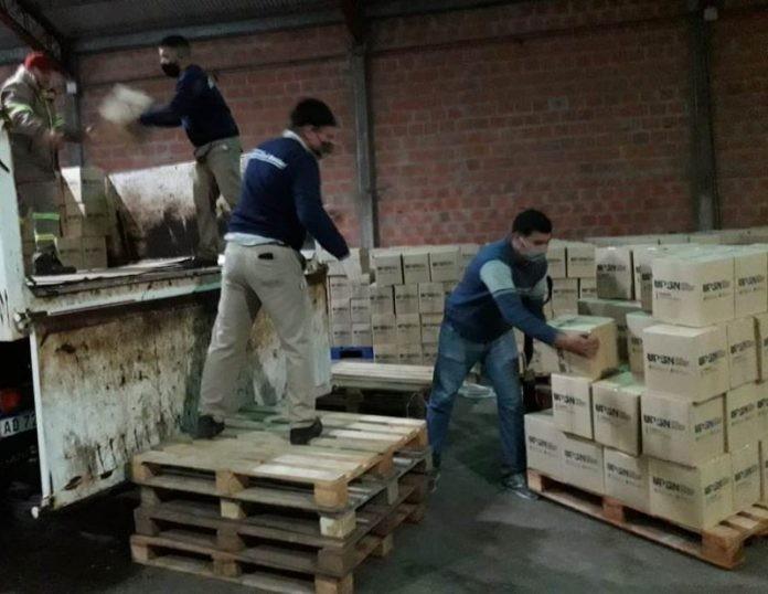 Contención alimentaria a familias de distintas localidades chaqueñas
