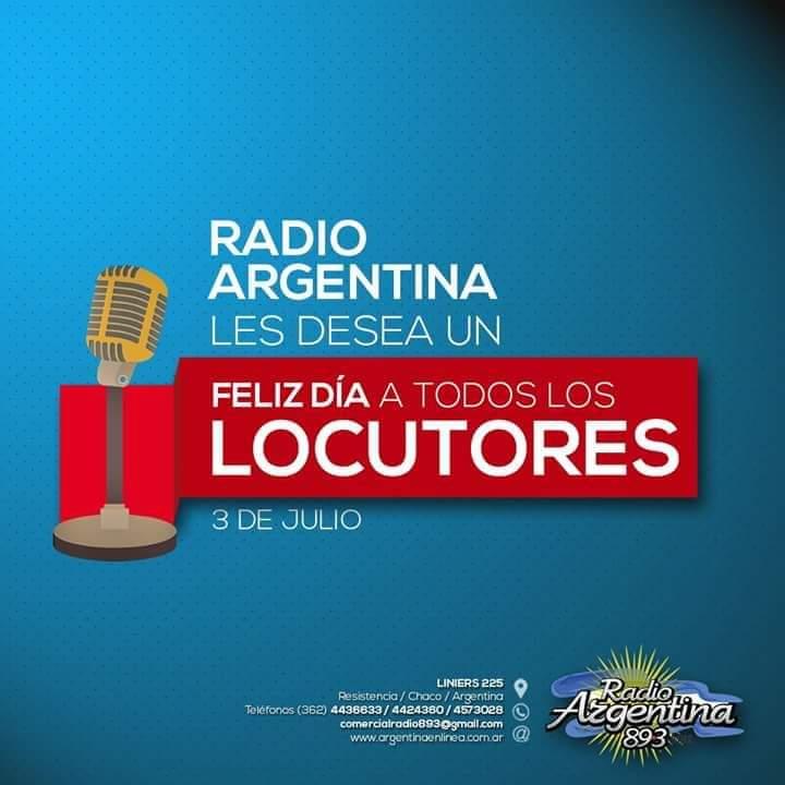 3 de julio: se celebra el Día del Locutor en Argentina