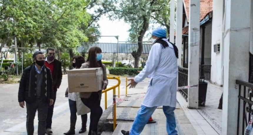 El Hospital Perrando recibió Remdesivir para enfermos de Covid-19