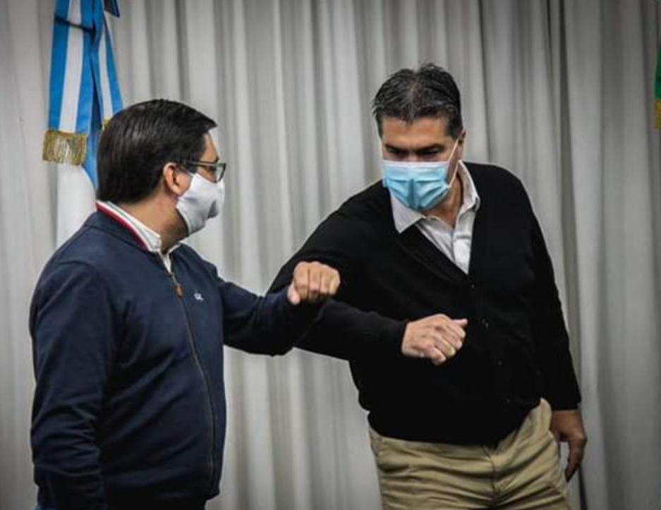 Jorge Capitanich se reunió con los intendentes de Resistencia, Fontana, Barranqueras y Vilelas