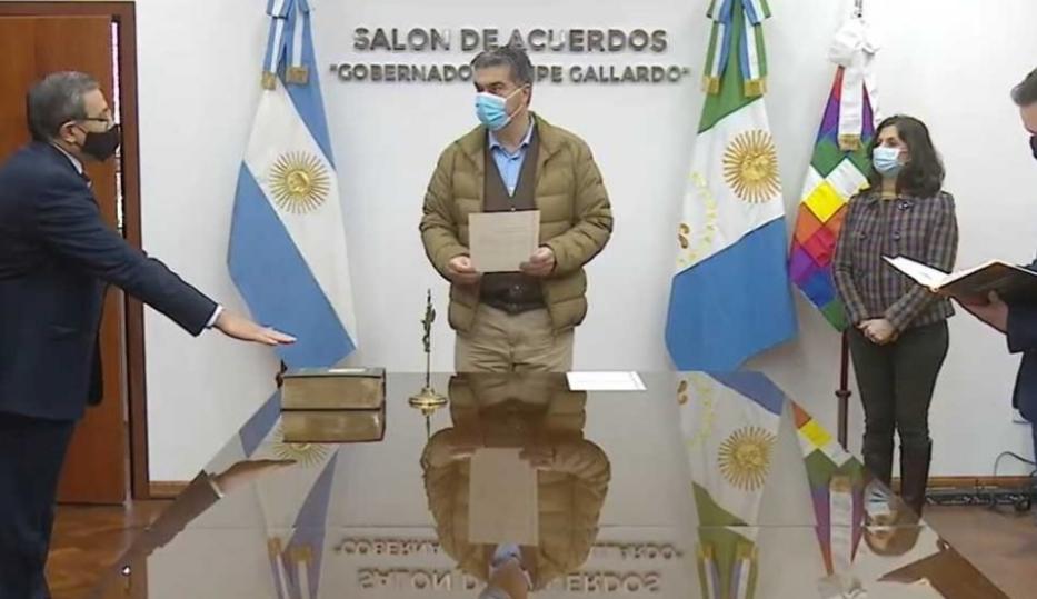 Capitanich tomó juramento a la nueva cúpula de la Policía y anunció un aumento del Servicio por Pandemia
