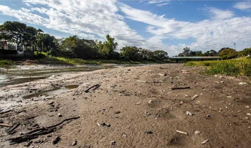 Fenómeno histórico: los ríos continuarán bajos hasta octubre