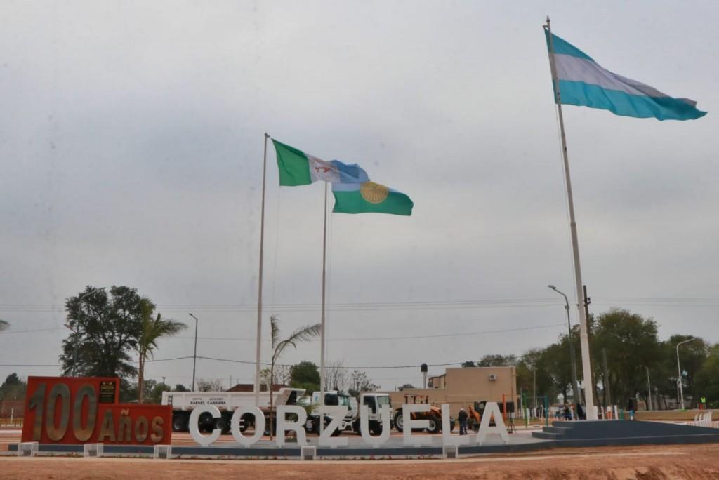 En Corzuela, entregaron maquinarias para fortalecer el parque automotor del municipio