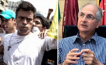Volvieron a detener a los líderes opositores Leopoldo López y Antonio Ledezma