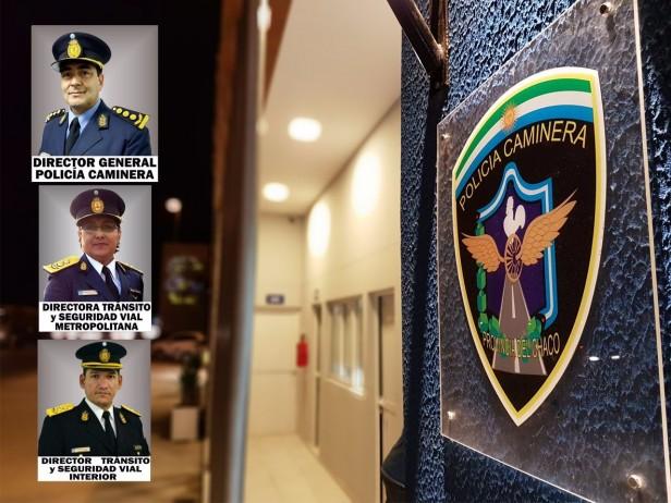 ASUMIERON NUEVOS DIRECTORES EN POLICÍA CAMINERA