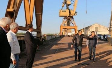 Peppo recorrió el Puerto de Barranqueras y destacó su impacto en la economía local
