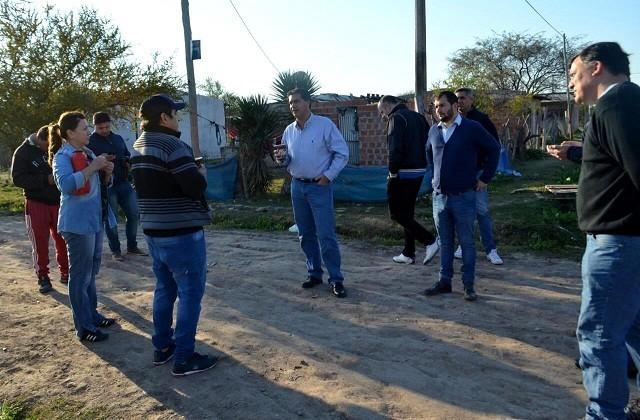 Capitanich superviso el operativo integral territorial en el barrio Zampa