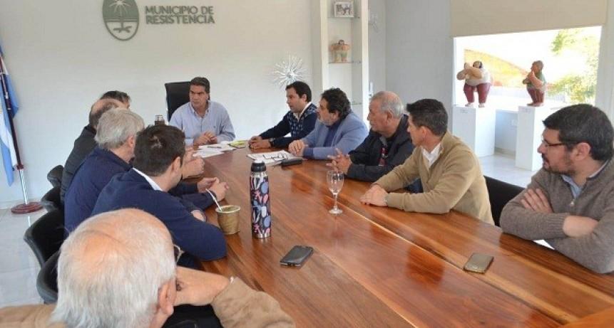 Capitanich y transportistas analizan detalles para la audiencia pública por la actualización de tarifas