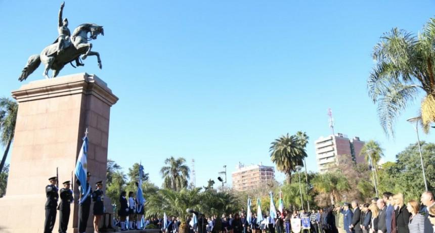 17 de Agosto: Capitanich encabeza actos en homenaje al General San Martín