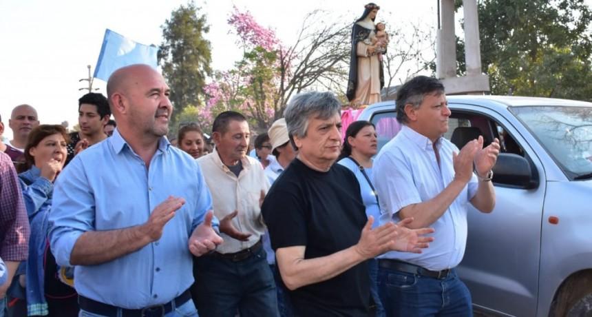 TACO POZO: PEPPO PARTICIPÓ DE LA PROCESIÓN Y MISA EN HONOR A SANTA ROSA DE LIMA