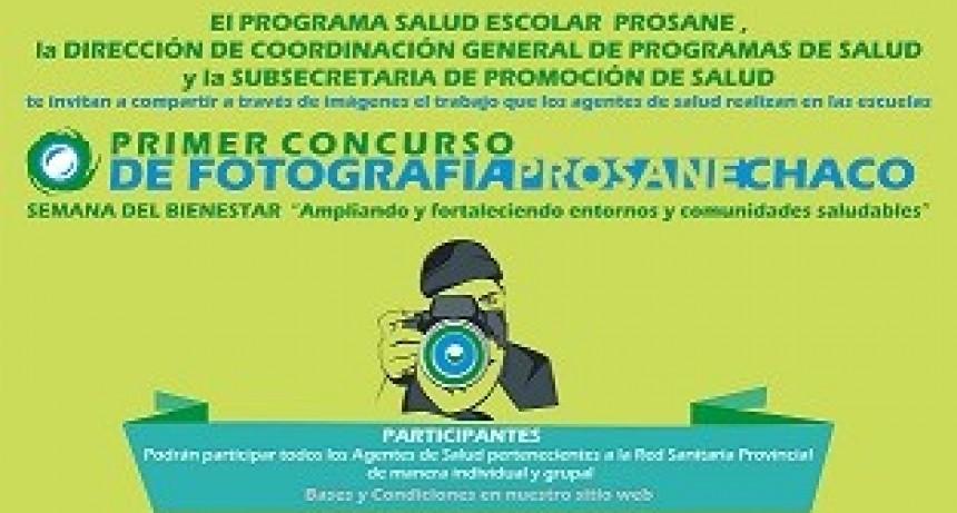 SALUD LANZA EL CONCURSO DE FOTOGRAFÍA PROSANE-CHACO 2018 PARA AGENTES SANITARIOS DE LA PROVINCIA
