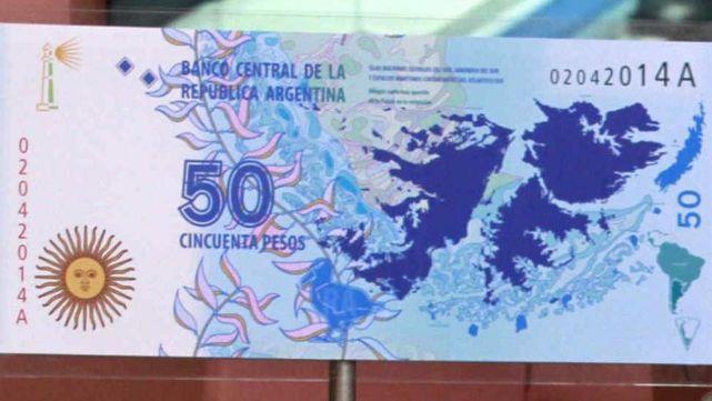 Chau Malvinas, hola Cóndor: el nuevo billete de $50