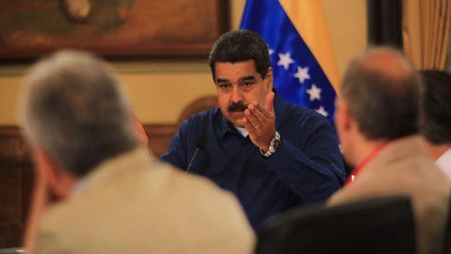 Condenaron a Maduro a 18 años de cárcel