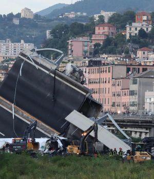 Génova: ya son 39 los muertos por el derrumbe de un puente