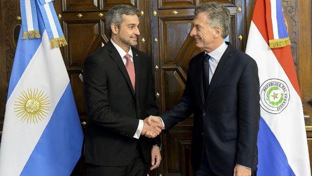 Macri participó de la asunción de Abdo y prometió