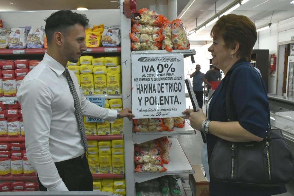VENTA DE PRODUCTOS SIN IVA EN SUPERMERCADOS DE RESISTENCIA