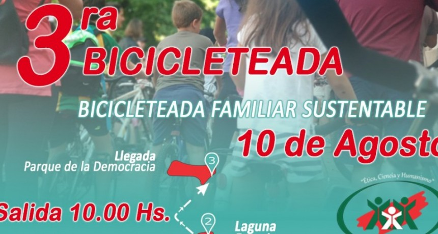 Nueva movida de Subite a la Bici organizada por el municipio de Resistencia