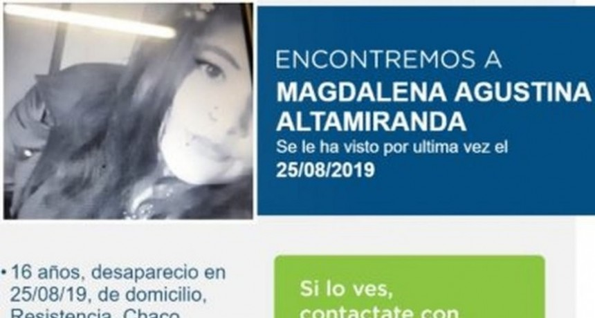 CONTINÚA LA BÚSQUEDA DE MAGDALENA ALTAMIRANDA
