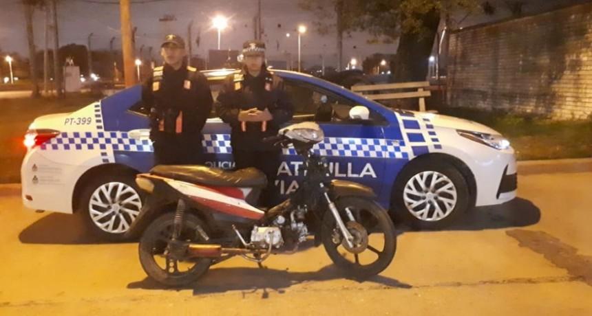 RECUPERAN DOS MOTOS EN EL MISMO DIA EN ZONA SUR DE RESISTENCIA