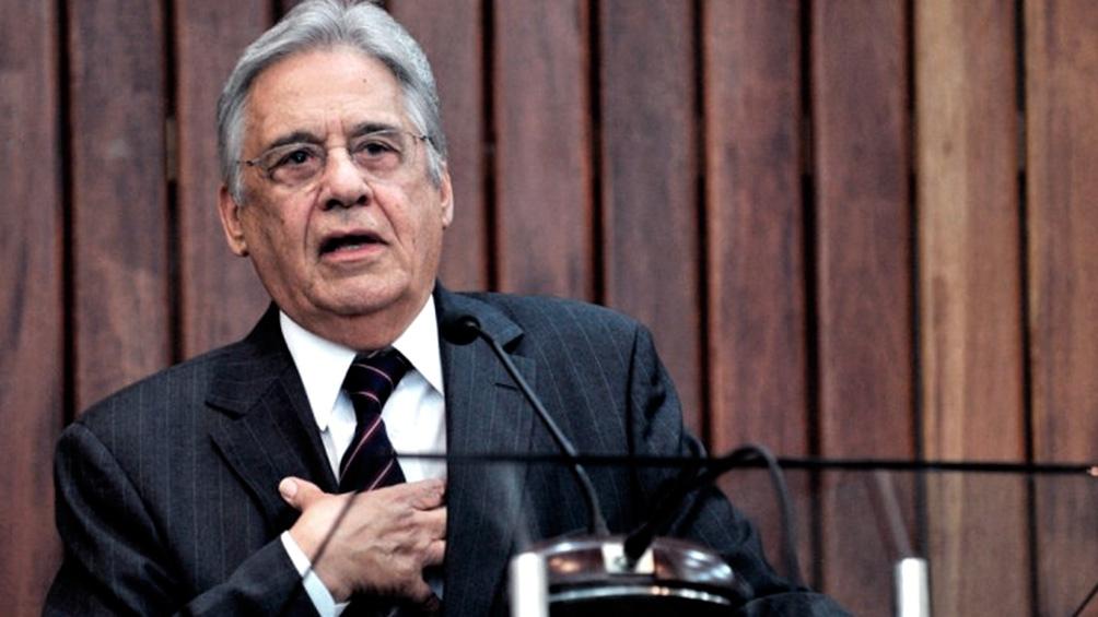 Macri, Alberto Fernández y Fernando Henrique Cardoso, juntos en un seminario
