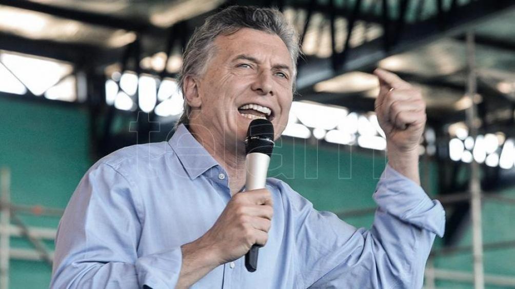 Macri en el cierre de campaña en Rosario: