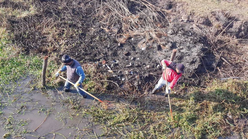 Se lanzó el voluntariado ambiental para la limpieza del riacho Iné en Margarita Belén