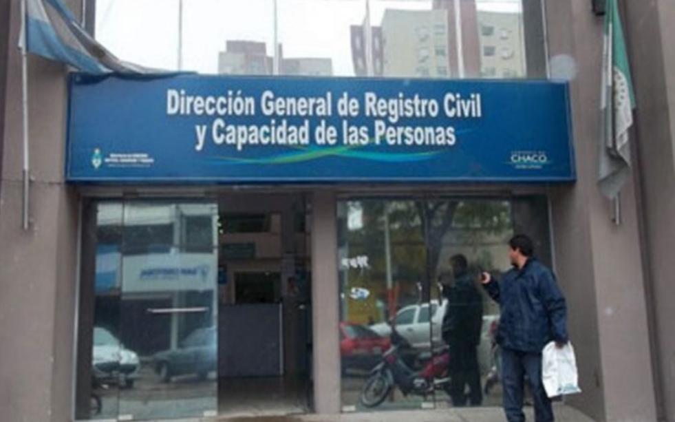Resistencia: Cerraron la Dirección General de Registro Civil por un caso positivo de Covid-19