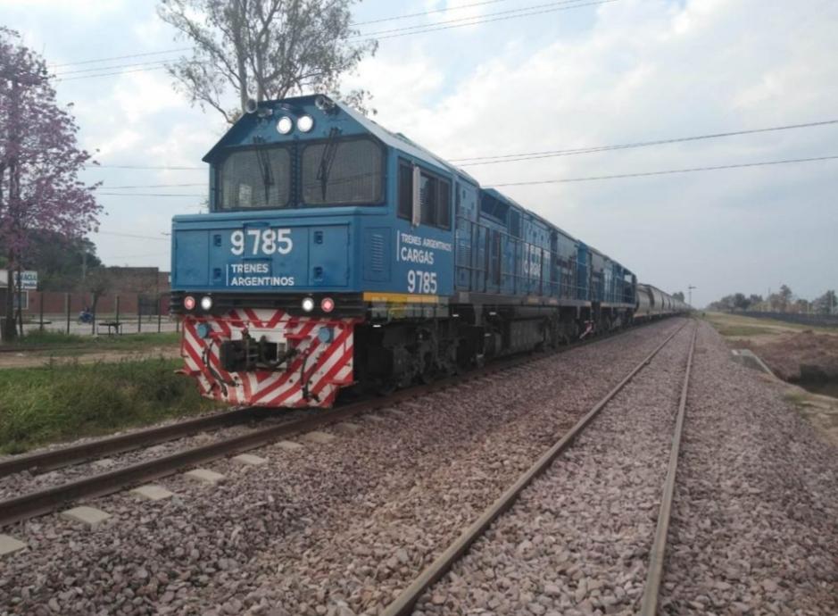 El tren de carga arrolló a un hombre en Charata