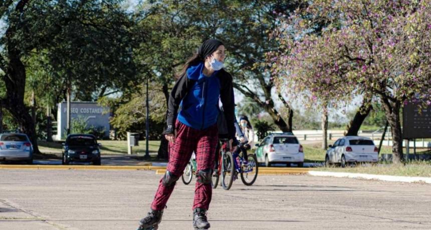 Se habilitaron nuevas actividades físicas y deportivas en Resistencia