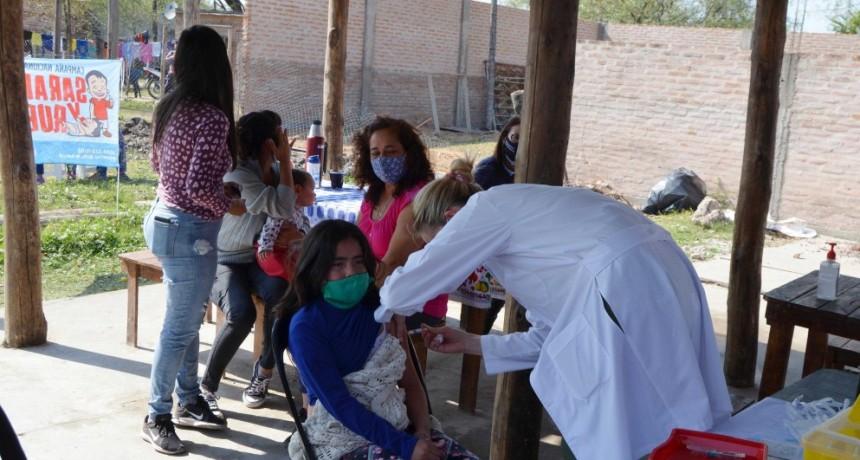 Nueva campaña de vacunación en merenderos de Resistencia