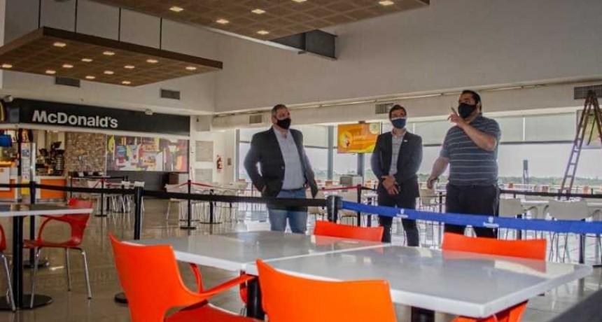 Detallaron protocolos sanitarios en el Shopping Sarmiento