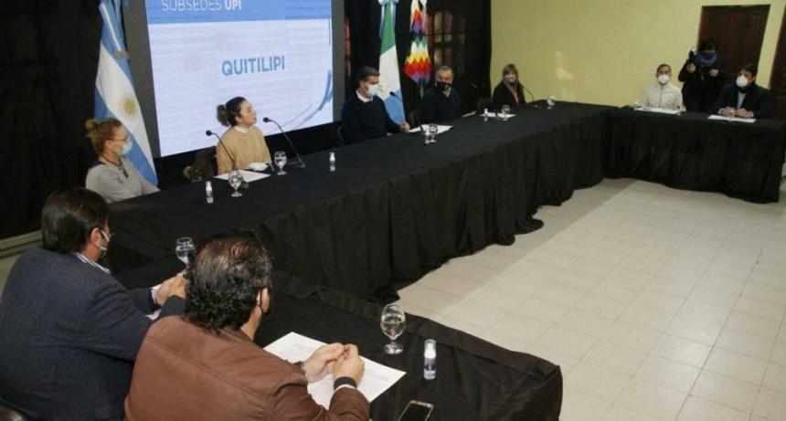 Capitanich inauguró la Unidad de Protección Integral en La Leonesa