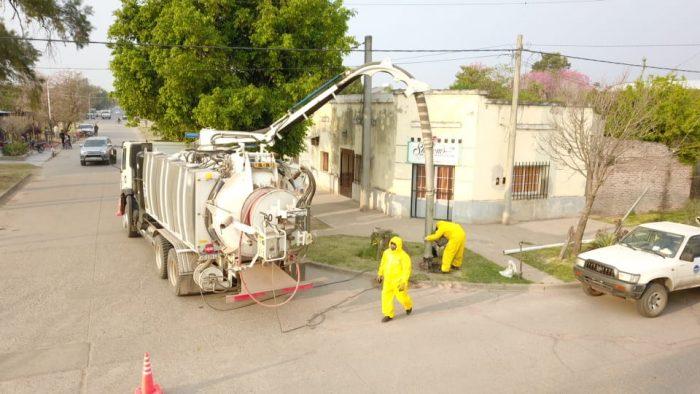 Sameep concreta tareas de saneamiento en Tres Isletas, Saenz Peña y Juan José Castelli