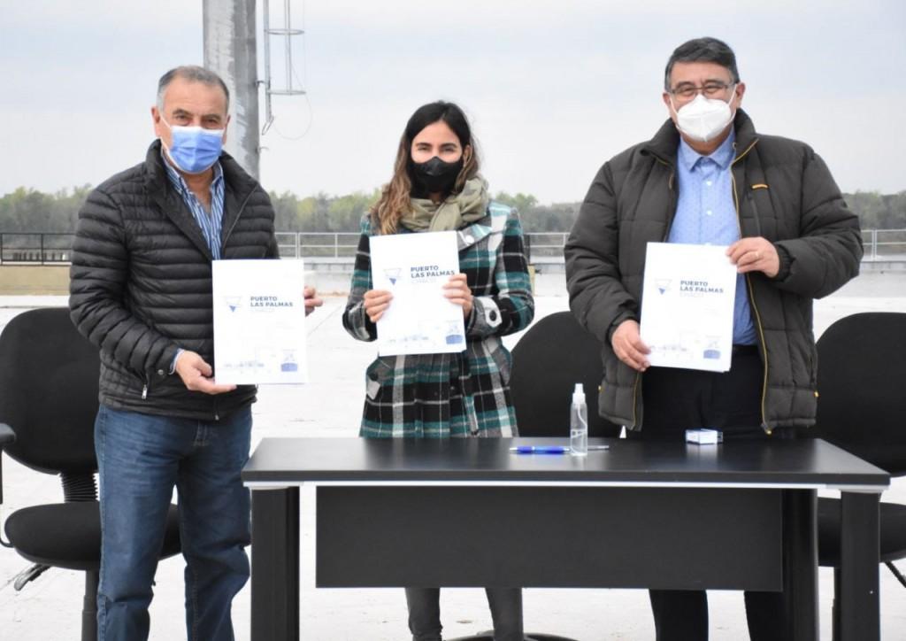 Puerto las Palmas: acuerdo con municipios acciones para fortalecer la comunidad portuaria