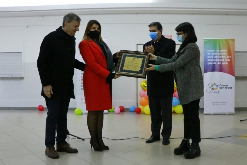 Día nacional de la educación especial, Capitanich encabezó el acto por el 30 aniversario de crecer con todos